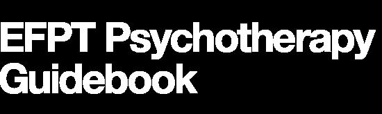 EFPT Psychotherapy Guidebook